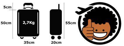 Cabin Size Logo person Fan Man TOKYOTO Luggage