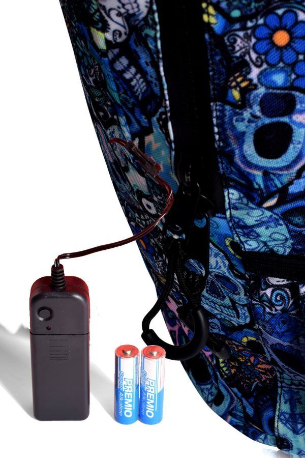 Backpack Led Light Movility Skateboard Bikes Bicycles TOKYOTO 15