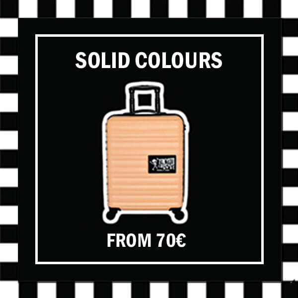 Solid Colour Luggage from 70 EUR