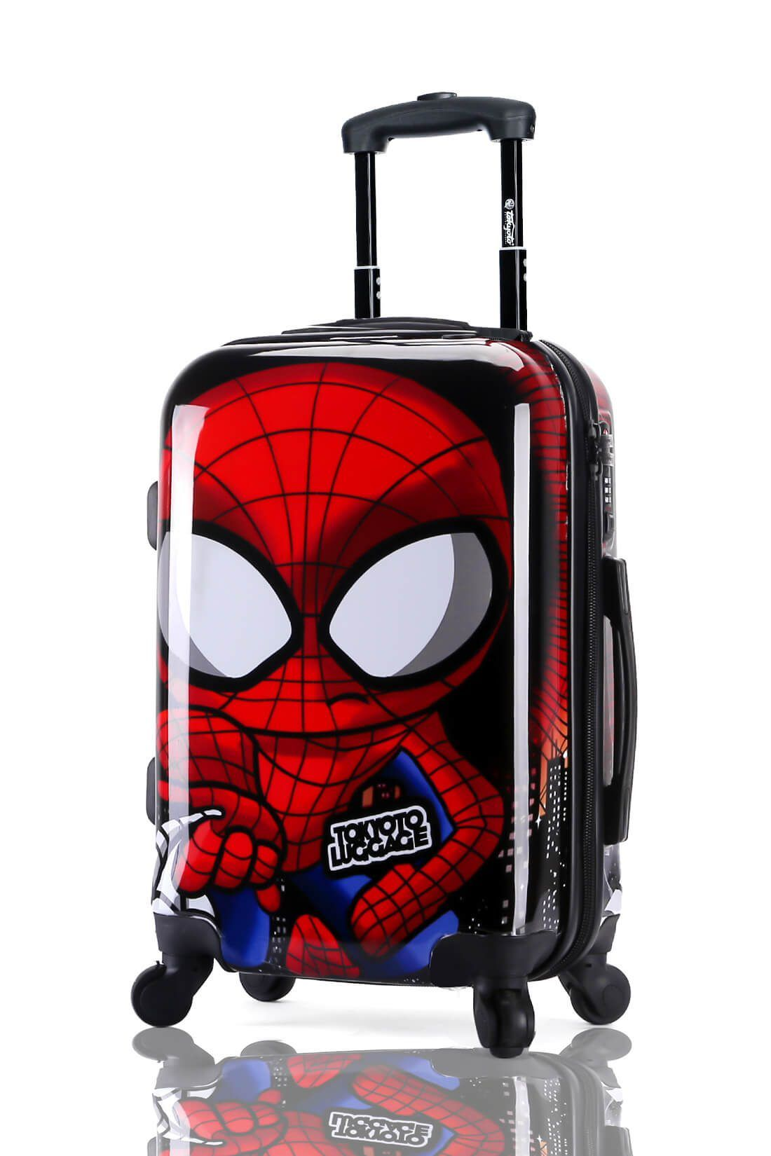Suitcase Luggage Cabin Size Kids Trolleys TOKYOTO LUGGAGE Model SPIDER BOY