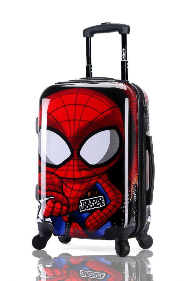 Suitcase Luggage Cabin Size Kids Trolleys TOKYOTO LUGGAGE Model SPIDER BOY