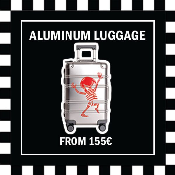 Aluminum Luggage COM Category 155 EUR