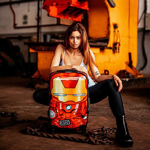 Kids Urban Fun Cabin Luggage Iron Boy Stule Marvel Tokyoto Luggage