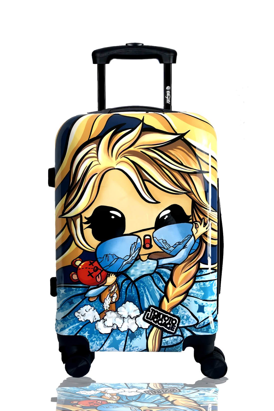 ICE PRINCESS Hand Cabin Luggage Online Kids Trolleys Original Gift TOKYOTO LUGGAGE 2