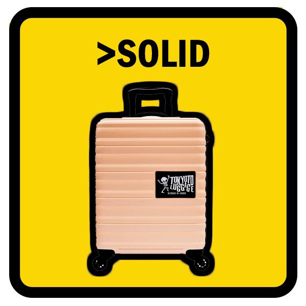 Solid colour Suitcases