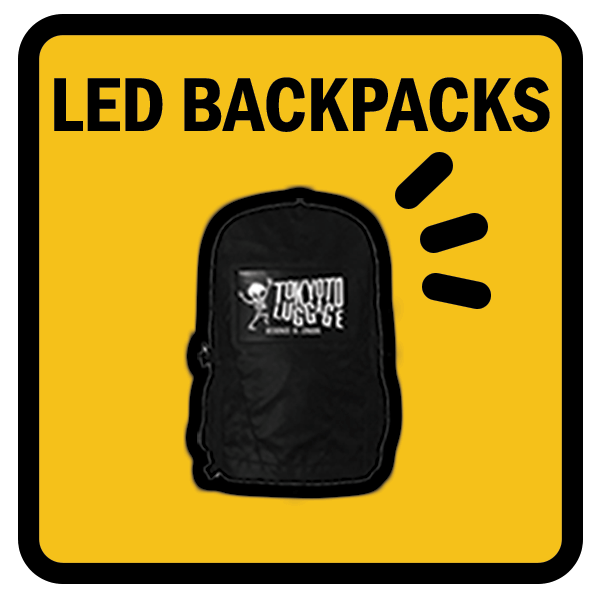 Led Backpacks for Bikes and Scooters
