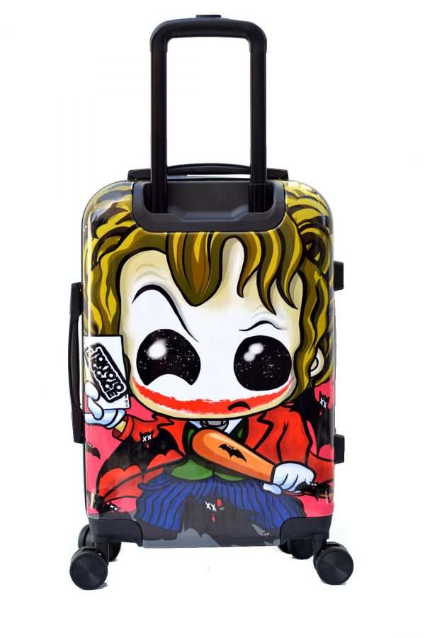 JOKER Hand Cabin Luggage Kids Trolley Carry on TOKYOTO Back