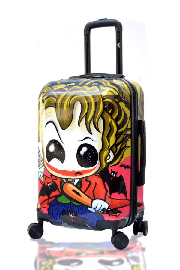 JOKER Hand Cabin Luggage Kids Trolley Carry on TOKYOTO Side
