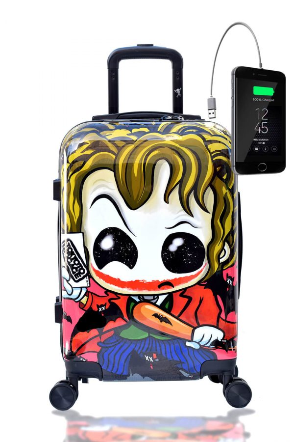 JOKER Hand Cabin Luggage Kids Trolley Carry on TOKYOTO front
