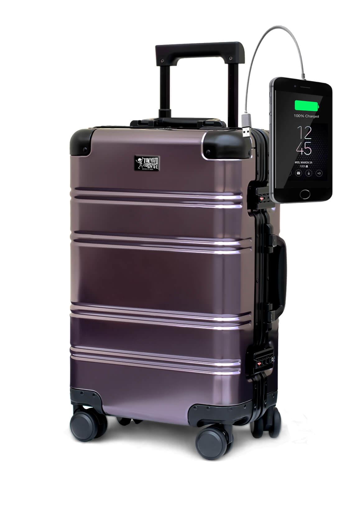 Aluminum Suitcase Trolley Cabin Luggage Suburra Tokyoto 5